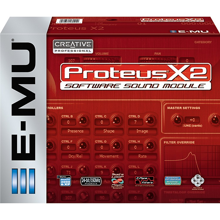 E-Mu Proteus X2 Software Sound Module