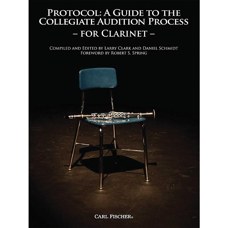 Carl FischerProtocol: Clarinet Book