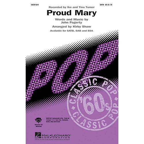 Hal Leonard Proud Mary SATB by Tina Turner arranged by Kirby Shaw-thumbnail
