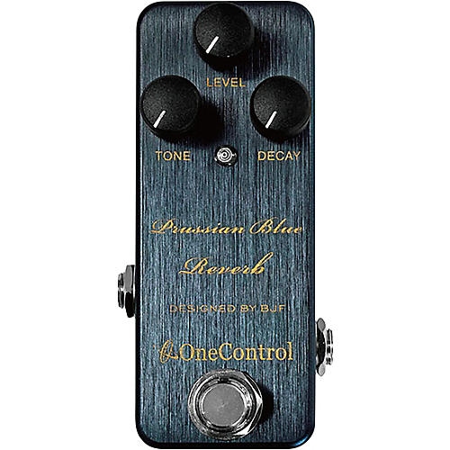 One Control Prussian Blue Reverb Effects Pedal-thumbnail