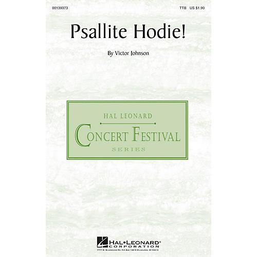 Hal Leonard Psallite Hodie! TTB composed by Victor C. Johnson-thumbnail