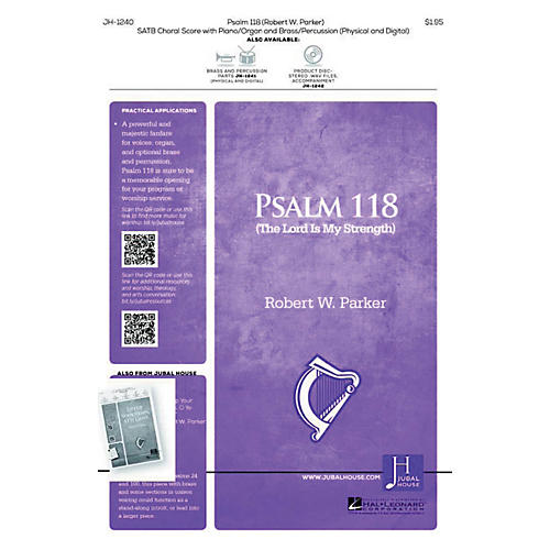 Jubal House Publications Psalm 118 SATB composed by Robert Parker-thumbnail