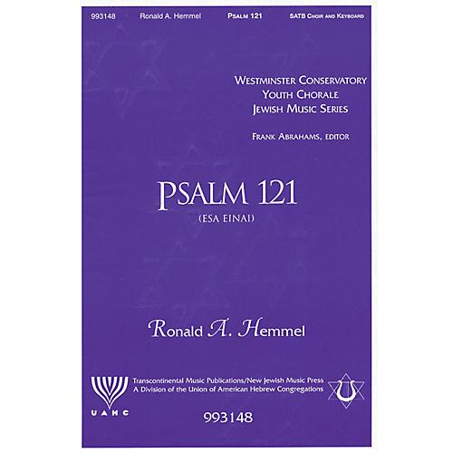 Transcontinental Music Psalm 121 (Esa Einai) SATB composed by Ronald Hemmel