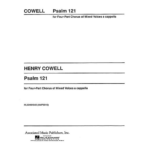 Associated Psalm 121 Unac Archive Edition SATB composed by H Cowell-thumbnail