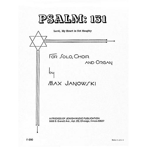 Transcontinental Music Psalm 131 (Lord, My Heart Is Not Haughty) SATB composed by Max Janowski-thumbnail