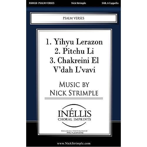 Pavane Psalm Verses SAB A Cappella composed by Nick Strimple