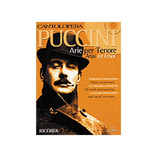 Hal Leonard Puccini Arias for Tenor-thumbnail
