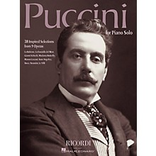 Ricordi Puccini for Piano Solo (38 Inspired Selections from 9 Operas) Misc Series