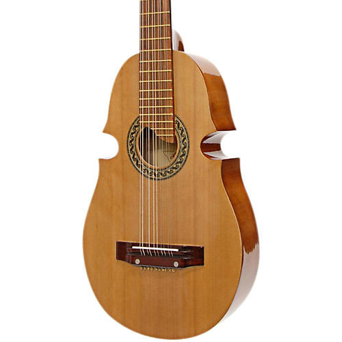 Paracho Elite Guitars Puerto Rican Style Cuatro Acoustic Guitar Natural