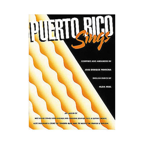 Edward B. Marks Music Company Puerto Rico Sings Piano/Vocal/Guitar Songbook