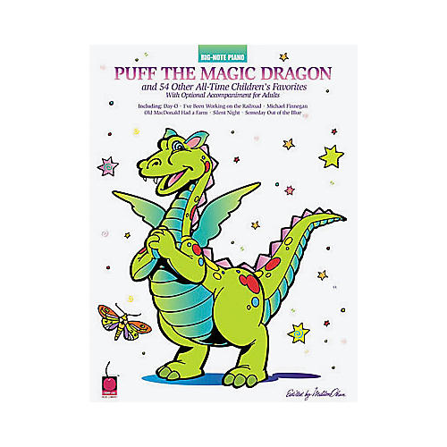 Hal Leonard Puff the Magic Dragon and 54 Other All-Time Children's Favorites Book