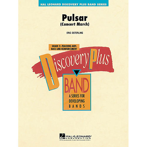 Hal Leonard Pulsar Concert March - Discovery Plus Band Level 2 composed by Eric Osterling-thumbnail