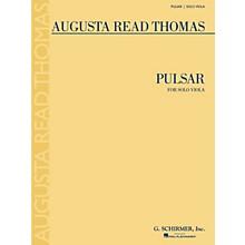 G. Schirmer Pulsar (Solo Viola) String Series Composed by Augusta Read Thomas