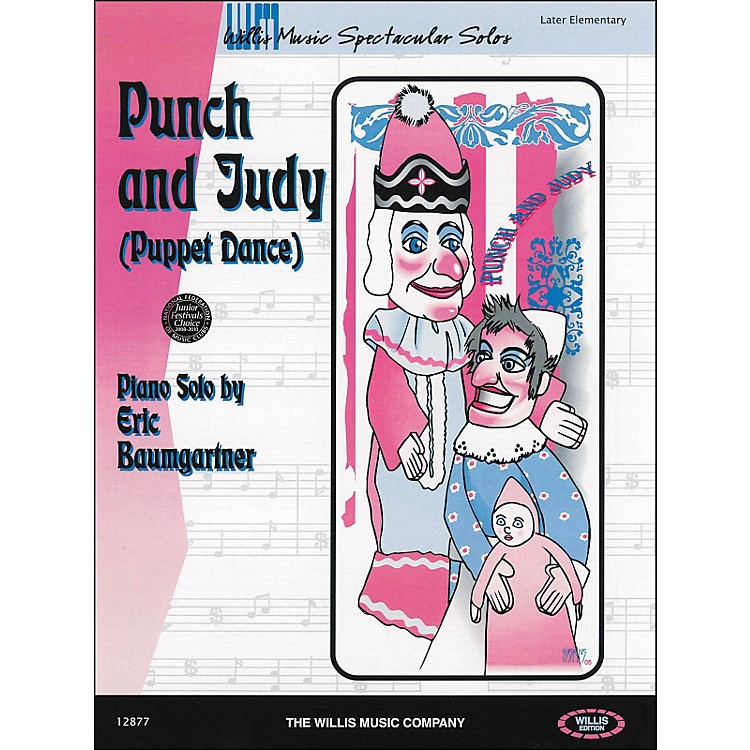 Willis Music Punch And Judy (Puppet Dance) Later Elementary Piano Solo by Eric Baumgartner