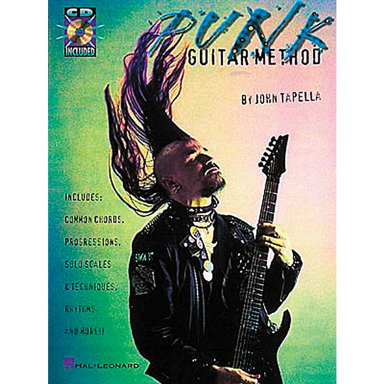 Hal Leonard Punk Guitar Method Book with CD