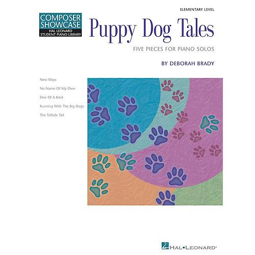 Hal Leonard Puppy Dog Tales Piano Library Series Book by Deborah Brady (Level Elem)-thumbnail