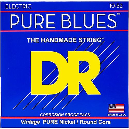 DR Strings Pure Blues  Nickel Big N' Heavy Electric Guitar Strings (10-52)-thumbnail