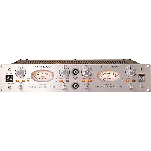 Avalon Pure Class A Dual  Mono Microphone Preamplifier & DI