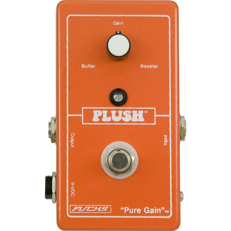 Plush Pure Gain Boost Guitar Effects Pedal