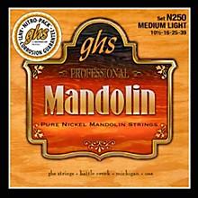 GHS Pure Nickel Mandolin Medium Light Strings