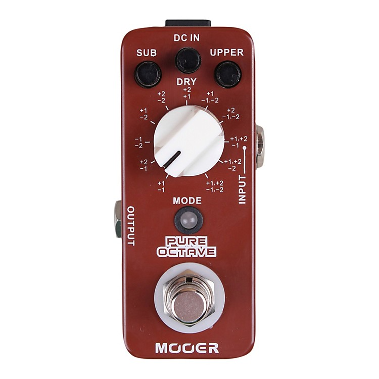 mooer pure octave guitar effects pedal musician 39 s friend. Black Bedroom Furniture Sets. Home Design Ideas