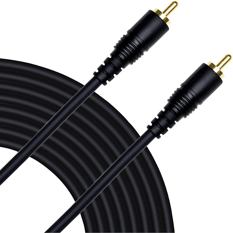 Mogami Pure Patch RCA to RCA Mono Hi-Definition Patch Cable  15 Foot