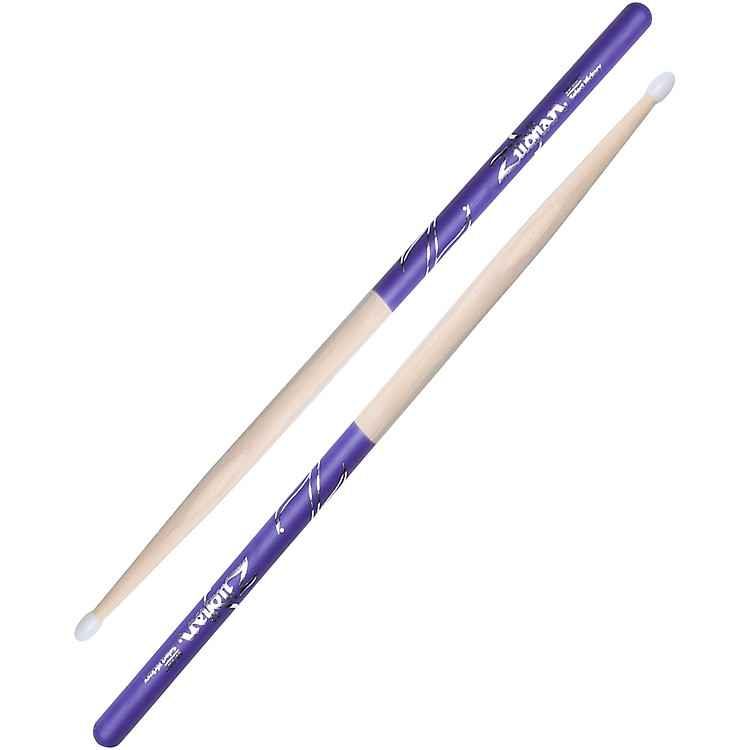 Zildjian Purple DIP Drumsticks Nylon 7A
