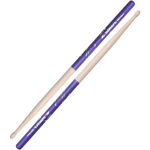 Zildjian Purple DIP Drumsticks Wood 5B