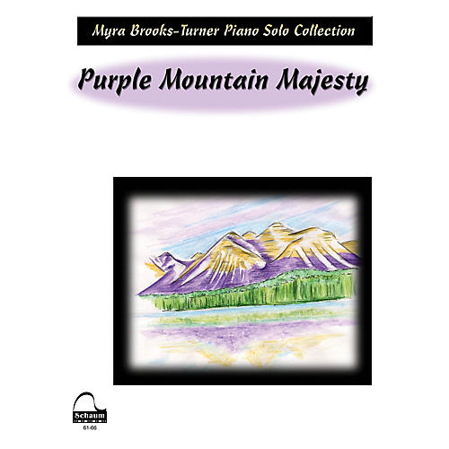 SCHAUM Purple Mountain Majesty Educational Piano Series Softcover-thumbnail