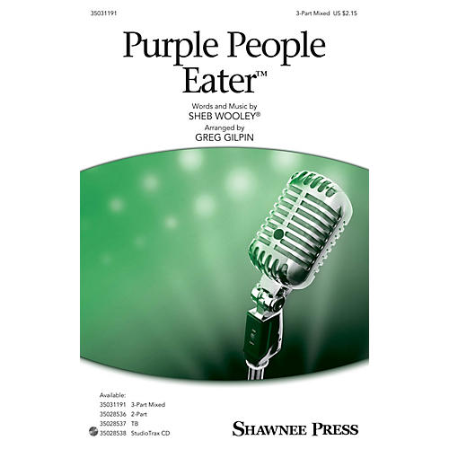 Shawnee Press Purple People Eater 3-Part Mixed arranged by Greg Gilpin-thumbnail