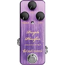 One Control Purple Plexifier Distortion Effects Pedal