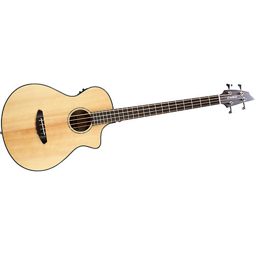Breedlove Pursuit Acoustic-Electric Bass Guitar Natural
