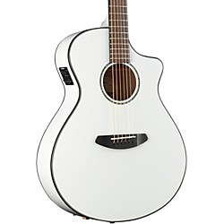Pursuit Concert CE Acoustic Electric Guitar White