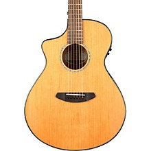 Breedlove Pursuit Concert Left-Handed Acoustic-Electric Guitar Natural