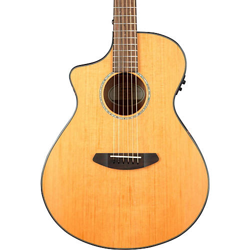 Breedlove Pursuit Concert Left-Handed Acoustic-Electric Guitar Natural