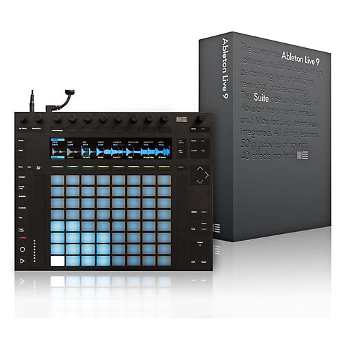Ableton Push 2 Software Controller with Live 9.7 Suite