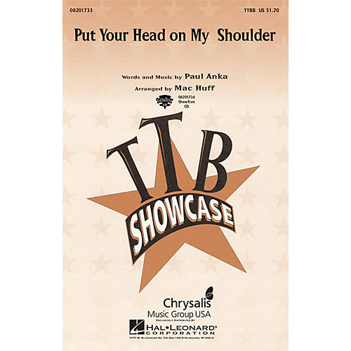 Hal Leonard Put Your Head on My Shoulder ShowTrax CD Arranged by Mac Huff