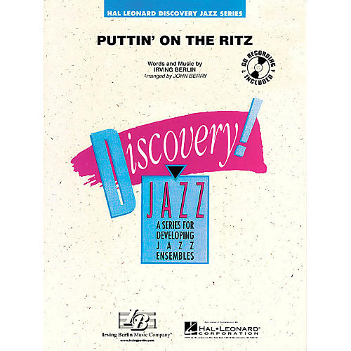 Hal Leonard Puttin' on the Ritz Jazz Band Level 1.5 Arranged by John Berry-thumbnail
