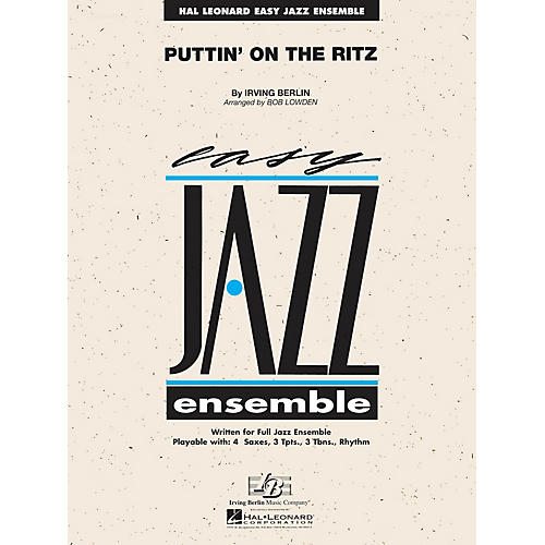 Hal Leonard Puttin' on the Ritz Jazz Band Level 2 Arranged by Les Hooper-thumbnail