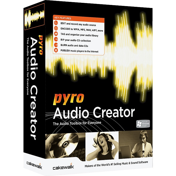 Cakewalk Pyro Audio Creator