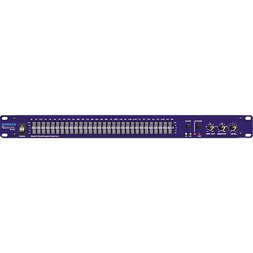 Furman Q-1311 Single Channel 31-Band Equalizer-thumbnail