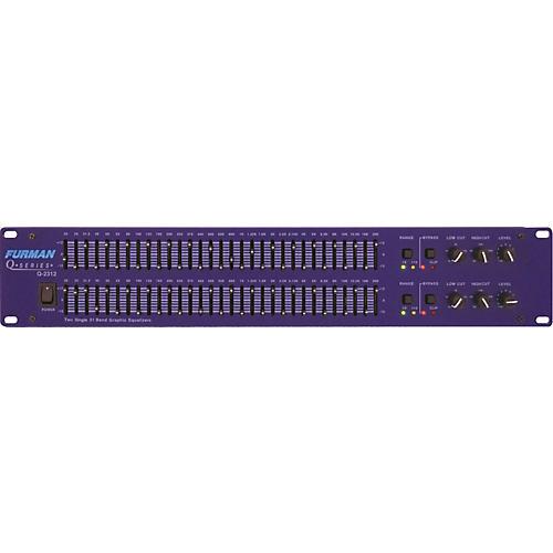 Furman Q-2312 Dual Channel 31-Band Equalizer