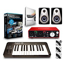 Alesis Q25 25-Key MIDI Keyboard Controller Packages Advanced Production Package