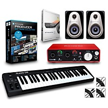 Alesis Q49 49-Key MIDI Keyboard Controller Packages Advanced Production Package
