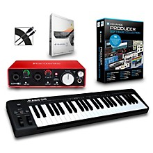 Alesis Q49 49-Key MIDI Keyboard Controller Packages Intermediate Production Package