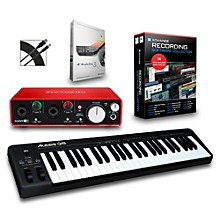 Alesis Q49 49-Key MIDI Keyboard Controller Packages Intermediate Recording Package