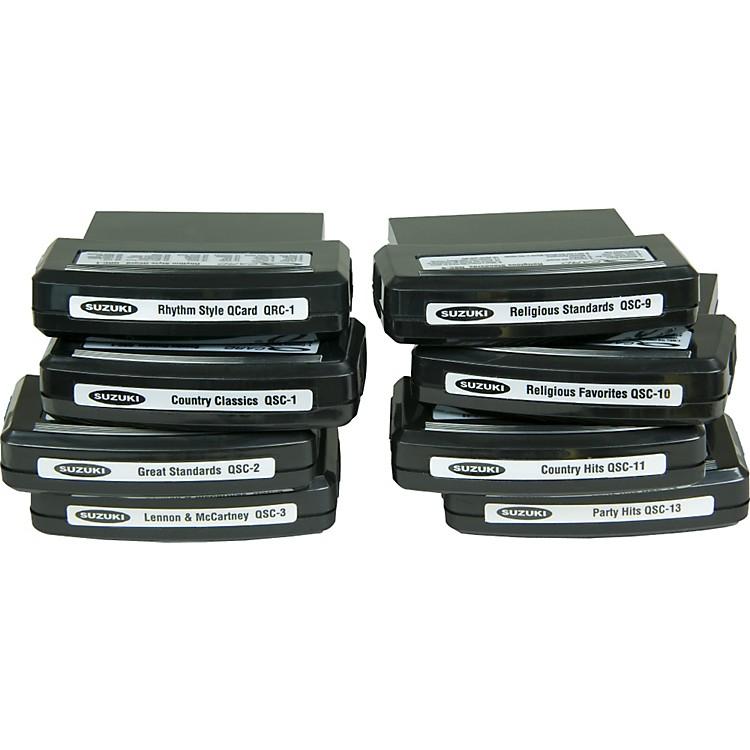 SuzukiQChord Song Cartridges30 Rhythm Styles