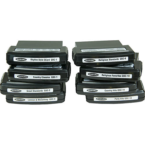 Suzuki QChord Song Cartridges Religious Standards