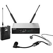 Open Box Shure QLX-D Digital Wireless System with SM35 Condenser Headset Microphone