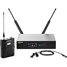 Shure QLX-D Digital Wireless System with WL183 Omnidirectional Lavalier Band J50